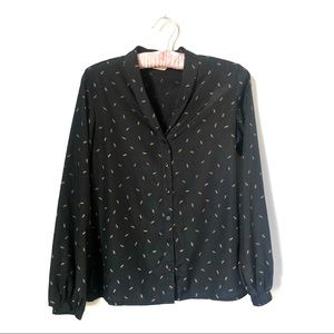 VINTAGE | Button Up Blouse